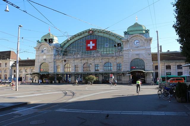 Bazylea - Dworzec kolejowy